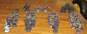 Black Legion 1500 points.